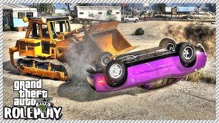 GTA 5 Roleplay - 'HUGE' Car Accident Flipped Drag Dodge Demon | RedlineRP #373