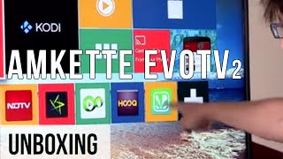 Amkette Evo TV 2 Streaming Device | Unboxing & How To Set Up | Digit.in