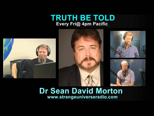 Sean David Morton Gets Deep on Conspiracy, Area 51 and The Shadow Government