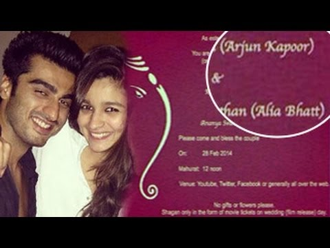 Alia Bhatt & Arjun Kapoor get ENGAGED : MUST WATCH