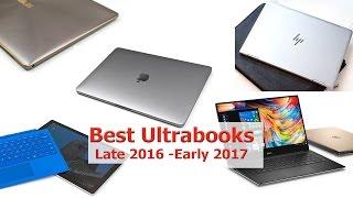 Best Ultrabooks Late 2016 - Early 2017