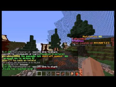 Minecraft LosJuegosDelHambre SERVERnopremium. SINLAG