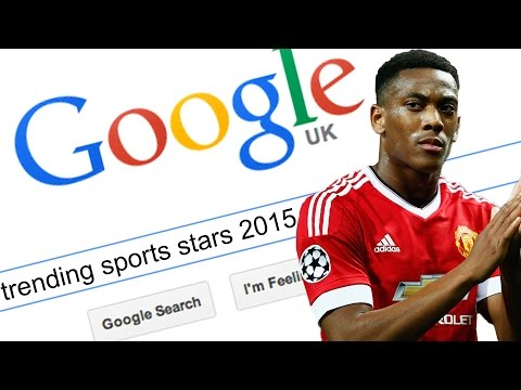 Top 10 Most Google Searched Sports Stars 2015!