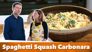 Keto Spaghetti Squash Carbonara / With Karen and Eric Berg