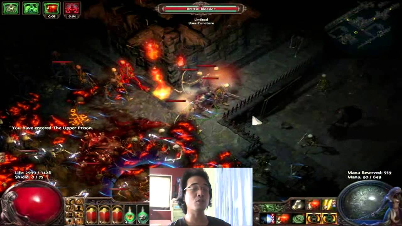 Path of Exile Farming Guide   Exalted Orb Drop! - YouTube