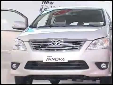 Toyota launches new Innova @ 11th Auto Expo 2012 -First look