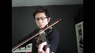 Beautiful In White And Canon Mash Up Violin