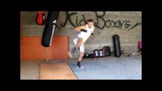 kick boxing entrainement 2
