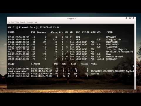 WiFi Wireless Security Tutorial - 12 - Reaver for WPS Pin Recovery