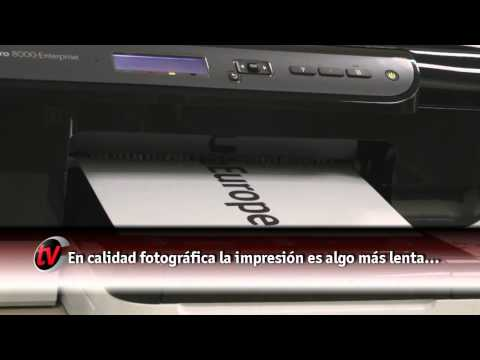 Impressora HP Officejet Pro 8000 - Demonstração Completa HP