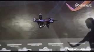 【X DRONE】XIRO DRONE XPLORER Automatically Avoiding a Obstacle 零度 探索者 自動避障功能 DEMO2