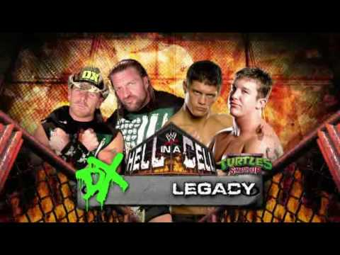 WWE Hell In A Cell - DX VS Legacy Video