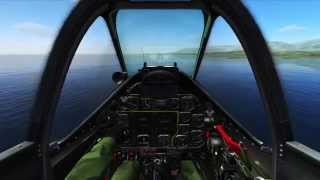 DCS Multiplayer - P-51D vs 109 and 190