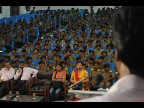 Sainik School Bijapur  Raju S Hiremath ,618,Wod, President Flexitron, addressing 7