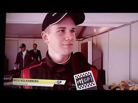 Hulkenberg 2006 A1 GP Zandvoort