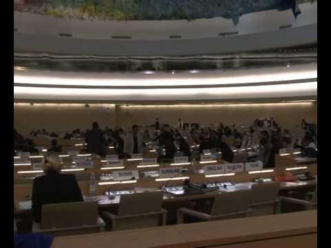 Iranian terror victims tell story at UN Human Rights Council