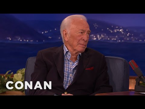 Christopher Plummer Turned Down The Role Of Gandalf  - CONAN on TBS