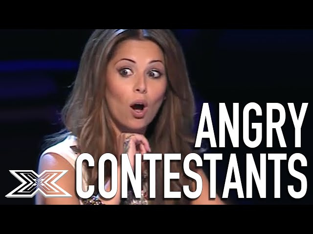Angry Acts: Top 5 Angriest Contestants from The X Factor UK thumbnail