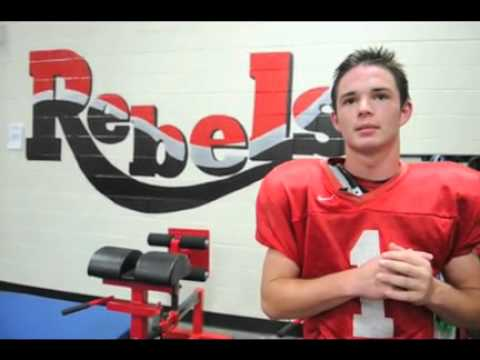 Maryville High School football senior Brian Coulter describes Keratoconus