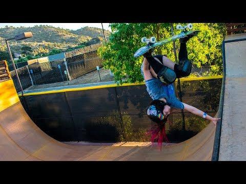 Girls Rules Skateboarding at Woodward West