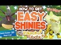 NEW SHINY METHOD in POKÉMON LETS GO PIKACHU and EEVEE! How to get Easy Shiny Pokemon in Lets Go! Mp3