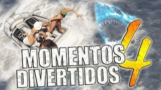 GTA V - Momentos Divertidos #4 (Funny Moments) (GTA 5)