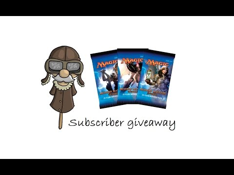 Modern Masters 2017 subscriber giveaway