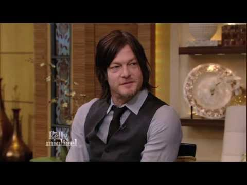 Norman Reedus on LIVE with Kelly and Michael