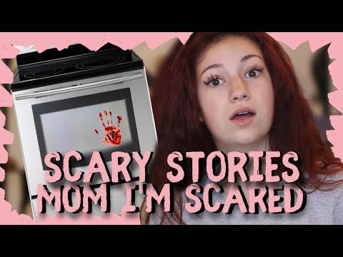 "Danielle Bregoli Reacts to Scary Story ""Mom I'm Scared"" thumbnail"