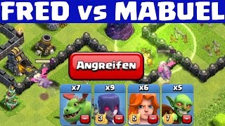 ICH GREIFE MABUEL AN! ;) || CLASH OF CLANS || Let