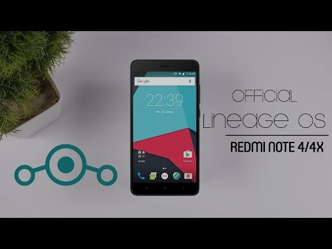 Official Lineage OS 14.1 For Redmi Note 4/4x - How To Install