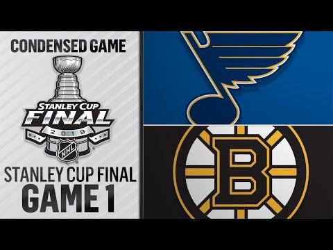 05/27/19 Cup Final, Gm1: Blues @ Bruins