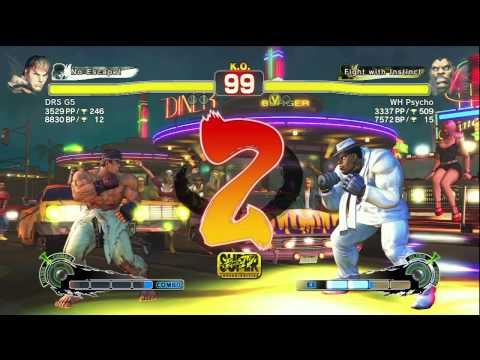 Ryu(DRS G5) VS M.Bison(WH Psycho)