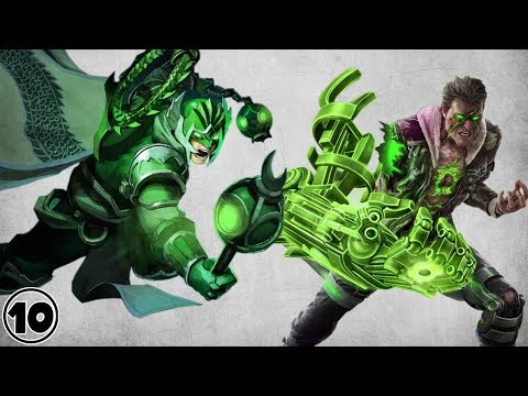 Top 10 Alternate Versions Of Green Lantern thumbnail