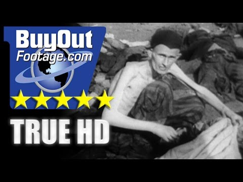 HD Stock Footage WWII Nazi Concentration Camp Atrocities