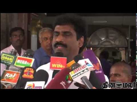 TN Election Commissioner Praveen Kumar Meets All Political Party Men in Chennai