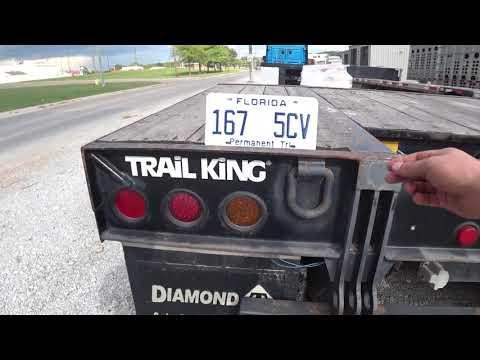 #45 Купил прицеп за 16500$ Обзор Trail King 35Ton