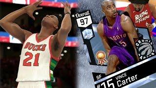 NBA 2K17 My Team - Diamond Vince Carter Dunks on 3! PS4 Pro 4K