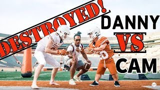 "TEXAS Player put Famous YOUTUBER  DANNY DUNCAN in PADS! | He Survived?!? | PART 1 ""The Intro"" 