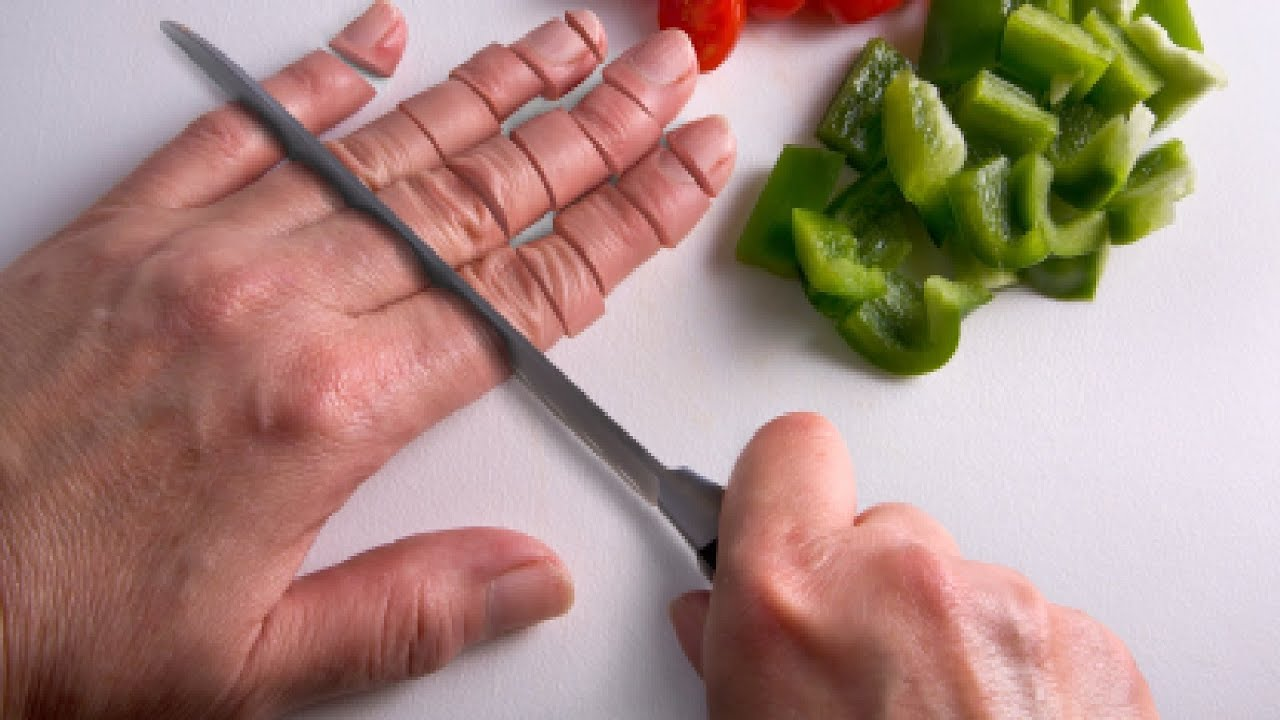 Как делать пальчики в домашних условиях