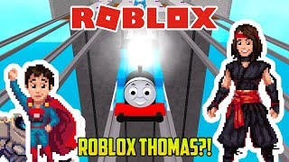Roblox: THOMAS AND FRIENDS ON ROBLOX?!