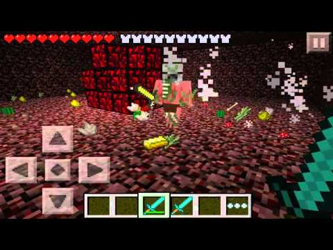 Minecraft Pocket Edition 0.6.0 • 0.7.3 - Nether Reactor Review