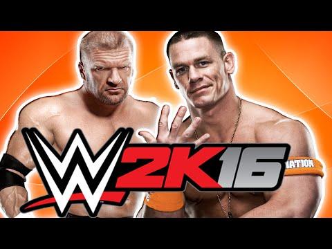 TRIPLE H VS JOHN CENA - LADDER - WWE 2K16 !