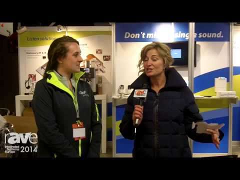 ISE 2014: Renee Chats with Listen Technologies