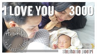Stephanie Poetri - I Love You 3000 (Acoustic Cover by Aviwkila)
