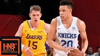 Los Angeles Lakers vs New York Knicks Full Game Highlights / July 10 / 2018 NBA Summer League