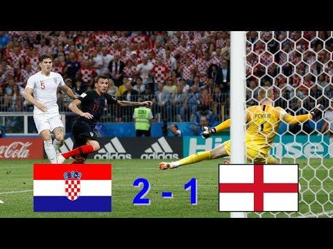 Croatia 2 - 1 England ( HD ) Goals & Highlights World Cup 2018 Russia 11.07.2018 thumbnail