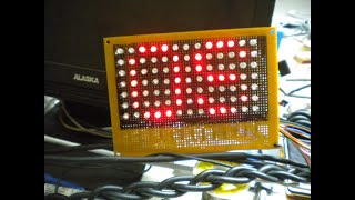 Matriz de Leds Pic 16f628