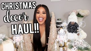 Christmas Decor Haul | Hobby Lobby, BIG LOTS, TJMAXX!! 2018