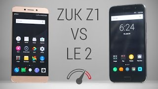 LeEco Le 2 vs ZUK Z1 Speedtest Comparison